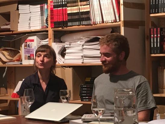 Anita Rochedy et Paolo Cognetti