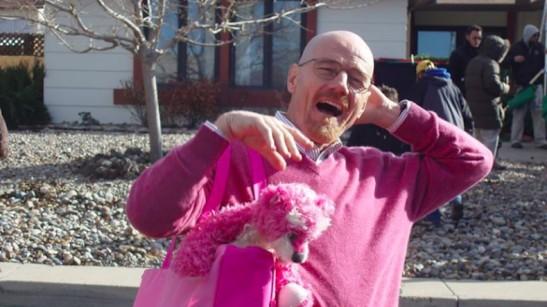 Walter White Breaking Bad Pink