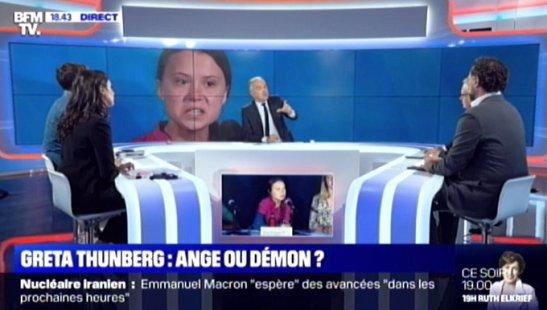 Greta Thunberg BFM