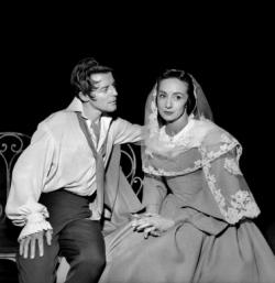 Gérard Philipe Suzanne Flon On ne badine pas avec l'amour Musset Jean Vilar TNP 1959