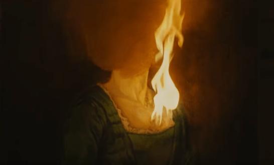 jeune fille en feu