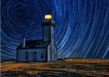 David Keochkerian Belle-Île Phare des Poulains nuit étoilée